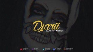 The Starry Night Twitch Creative Stream Funny Moments - Djarii MUA