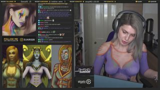 Calia Menethil World of Warcraft Bodypaint | Djarii MUA