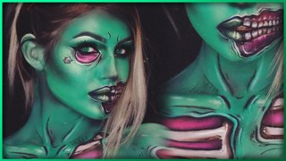 Ghoul Trooper Fortnite Body Paint | Djarii MUA