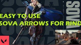 Sova Bind Arrows & Combination Strategy [VALORANT] - Easy & Useful
