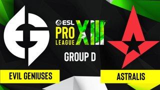 CS:GO - Astralis vs. Evil Geniuses [Vertigo] Map 2 - ESL Pro League Season 13 - Group D