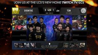 LCS Playoffs: Dignitas vs. TSM