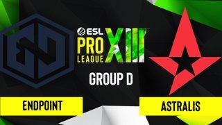 CS:GO - Astralis vs. Endpoint [Dust2] Map 2 - ESL Pro League Season 13 - Group D