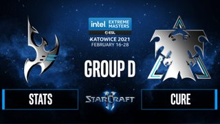 SC2 - Stats vs. Cure - IEM Katowice 2021 - Group D