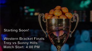 NASEF High School Scholastic TournamentWestern Bracket Finals - Troy vs Sunny HillsMatch Start: 4:00 PM