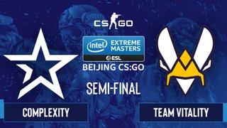 CS:GO - Complexity vs. Team Vitality [Vertigo] Map 1 - IEM Beijing 2020 Online - Semi-final - EU