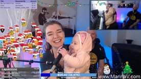 Baby V steals the mic!