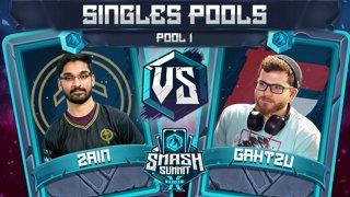Zain vs Gahtzu - Singles Pools: Pool 1 - Smash Summit 10 | Marth vs Captain Falcon