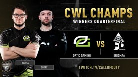 Optic Gaming vs Enigma6 | CWL Champs 2019 | Day 4