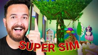 Treehouse Bedroom! Super Sim Challenge Season 3 (Part 4)
