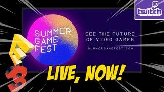 E3 BEGINS...Summer Games Fest Live, 30+ Reveals !ads !nzxt (6-10)
