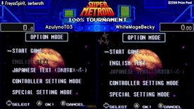 Top 32. AzulynoT03 vs WhiteMageBecky. Super Metroid 100% Tournament 2020.