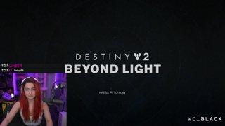 Destiny 2 with Nora