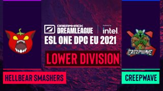 Dota2 - Hellbear Smashers vs. Creepwave - Game 1 - DreamLeague Season 14 DPC: EU - Lower Division