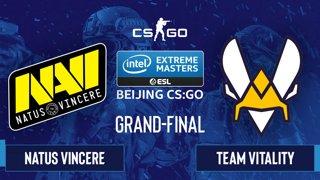 CS:GO - Natus Vincere vs. Team Vitality [Mirage] Map 5 - IEM Beijing 2020 Online - Grand-Final - EU