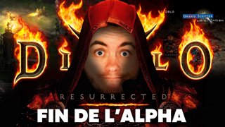 Derniers pas sur l'alpha de Diablo II qui ferme demain ! On essaye de finir l'acte 2 omg