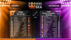 King of the Sea VI - EU Semifinal - [RAIN] vs. [10GO]