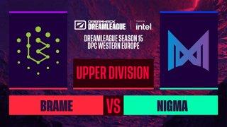 Dota2 - Nigma vs. Brame - Game 2 - DreamLeague S15 DPC WEU - Upper Division
