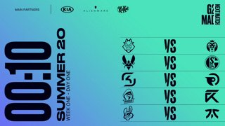 Week 1 Day 1 | LEC Summer Split (2020)