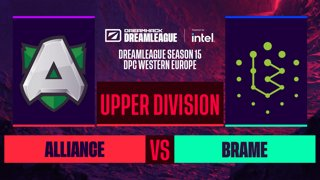Dota2 - Brame vs. Alliance - Game 2 - DreamLeague S15 DPC WEU - Upper Division