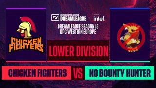 Dota2 - No Bounty Hunter vs. Chicken Fighters  - Game 2 - DreamLeague S15 DPC WEU - Lower Division