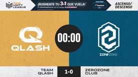 QLASH VS ZEROZONE - MAPA 2  | Orange Unity League CSGO  | ASCENSO/DESCENSO | Temporada 2020