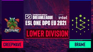 Dota2 - Brame vs. Creepwave - Game 1 - DreamLeague Season 14 DPC: EU - Lower Division