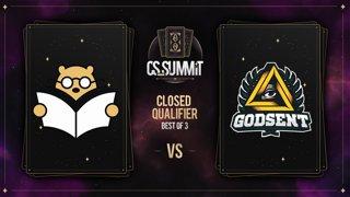 Bad News Bears vs GODSENT (Dust2) - cs_summit 8 CQ: Losers' Round 2 - Game 2
