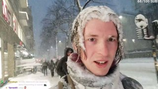 Insane snow storm streamer gets lost in. 02/02/2021