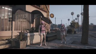 Highlight: CAMP FAREWELL: Dave & Stacy arrive in Los Santos