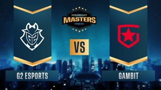 CS:GO - Gambit vs. G2 Esports [Train] Map 2 - DreamHack Masters Spring 2021- Group A
