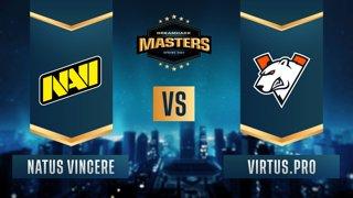 CS:GO - Natus Vincere vs. Virtus.pro [Dust2] Map 1 - DreamHack Masters Spring 2021- Group A