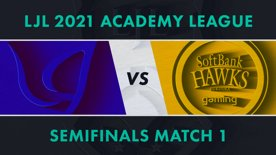 CGA.A vs SHG.A LJL 2021 Academy League Tournament Round Semifinals Match 1