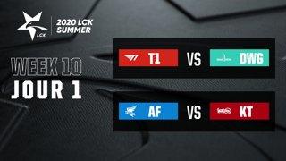 LCK Summer 2020 - W10D1
