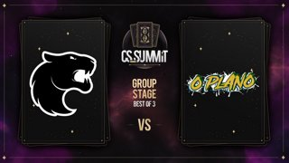 FURIA vs O Plano (Mirage) - cs_summit 8 Group Stage: Opening Match - Game 2