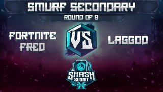 Fortnite Fred vs laggod - Smurf Secondary: Round of 8 - Smash Summit 10 | Young Link vs Falco