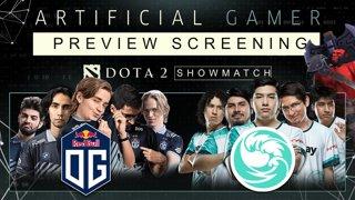 OG vs Beastcoast Showmatch & Artificial Gamer Preview Screening