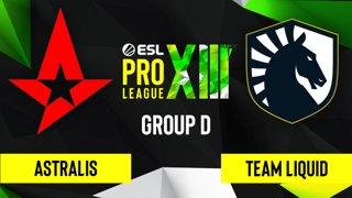 CS:GO - Astralis vs. Team Liquid [Overpass] Map 1 - ESL Pro League Season 13 - Group D