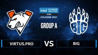 CS:GO - BIG vs Virtus.pro [Inferno] Map 2 - IEM Cologne 2021 - Group A