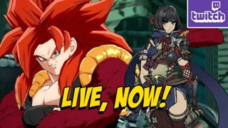 STREAMING ON TWITCH! GOGETA SSJ4 & Monster Hunter Rise Updates!? (3-9) !ads !nzxt (3-9)