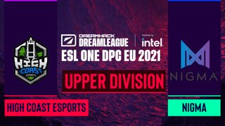 Dota2 - High Coast Esports vs. Nigma - Game 1 - DreamLeague Season 14 DPC: EU - Upper Division