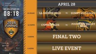 Orange County High School Esports League 2018 Finals!