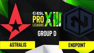 CS:GO - Astralis vs. Endpoint [Inferno] Map 1 - ESL Pro League Season 13 - Group D