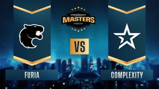 CS:GO - FURIA vs. Complexity [Mirage] Map 1 - DreamHack Masters Spring 2021 - Group B