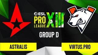 CS:GO - Astralis vs. Virtus.pro [Inferno] Map 1 - ESL Pro League Season 13 - Group D