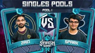 Zain vs Spark - Singles Pools: Pool 1 - Smash Summit 10 | Marth vs Sheik