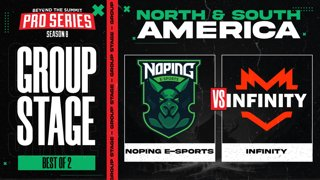 NoPing vs Infinity Game 1 - BTS Pro Series 8 AM: Group Stage w/ rkryptic & neph