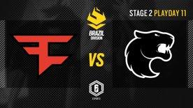 FaZe Clan vs. FURIA - LATAM League 2021   Stage 2 - Playday 11   #BR6