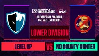 Dota2 - No Bounty Hunter vs. Level UP - Game 2 - DreamLeague S15 DPC WEU - Lower Division