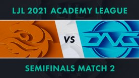 V3.A vs DFM.A LJL 2021 Academy League Tournament Round Semifinals Match 2